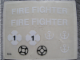 Part No: 316.1stk01  Name: Sticker for Set 316-1 - (4645)