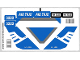 Part No: 3222stk01  Name: Sticker for Set 3222 - (89505/4578235)