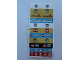 Part No: 3425stk01  Name: Sticker for Set 3425 - Sheet 1 (42041/4161897}