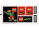 Part No: 3442stk01  Name: Sticker Sheet for Set 3442 - Sheet 1 (22157/4121825)