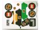 Part No: 3544stk01  Name: Sticker Sheet for Set 3544 - (46204/4194685)