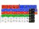 Part No: 3569stk01  Name: Sticker Sheet for Set 3569 - Sheet 1, Minifigure Torso and Scoreboard Numbers (54880/4286021)