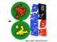 Part No: 3570stk01  Name: Sticker Sheet for Set 3570 - (54590/4284955)