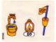 Part No: 3660stk01  Name: Sticker Sheet for Set 3660 - (196325)