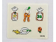 Part No: 3669stk01  Name: Sticker Sheet for Set 3669 - (194045)