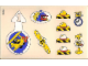 Part No: 3671stk01  Name: Sticker Sheet for Set 3671 - (195845)