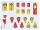 Part No: 3681stk01  Name: Sticker Sheet for Set 3681 - (196625)