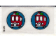 Part No: 3719stk01  Name: Sticker for Set 3719 - (160125)
