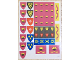 Part No: 375.2stk01  Name: Sticker Sheet for Set 375-2 - (3238)