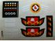 Part No: 4025stk01  Name: Sticker for Set 4025 - (194305)