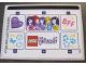 Part No: 40266stk01  Name: Sticker Sheet for Gear 40266 - (30951/6178246)