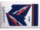 Part No: 4032.13stk02  Name: Sticker Sheet for Set 4032-13 - Sheet 2, Aeroflot Airlines, Cyrillic Characters (55961/4592911V)