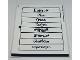 Part No: 40359stk02  Name: Sticker Sheet for Gear 40359 - Sheet 2 (49711/6255010)