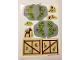 Part No: 41054stk01b  Name: Sticker Sheet for Set 41054 - Sheet 1, Solid Color Background Version - (17750/6075321)