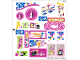 Part No: 41058stk01  Name: Sticker for Set 41058 - Sheet 1 (17797/6076030)