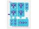 Part No: 41172stk01  Name: Sticker Sheet for Set 41172 - (25775/6142714)