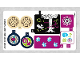 Part No: 41173stk01b  Name: Sticker Sheet for Set 41173 - North American Version - (25862/6143358)