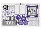 Part No: 41180stk01  Name: Sticker Sheet for Set 41180 - Sheet 1 - (27051 / 6154874)