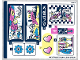 Part No: 41343stk01  Name: Sticker Sheet for Set 41343 - (38012/6222296)