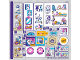 Part No: 41345stk01  Name: Sticker Sheet for Set 41345 - (38015/6222302)