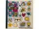 Part No: 41401stk01  Name: Sticker Sheet for Set 41401 - (66281/6287407)