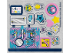 Part No: 41406stk01  Name: Sticker Sheet for Set 41406 - (66304/6287561)