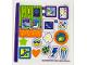 Part No: 41408stk01  Name: Sticker Sheet for Set 41408 - (66307/6287565)