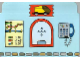 Part No: 4170201  Name: Plastic Backdrop, Duplo Train Station Ticket Window