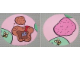 Part No: 4182736  Name: Paper, Duplo Playmat, Circle with Hole Dug/Hole Filled Pattern for Set 3283