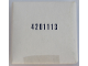 Part No: 4201113  Name: Cardboard Sleeve 4201113 with Contents