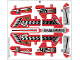 Part No: 42011stk01  Name: Sticker for Set 42011 - (13079/6023233)