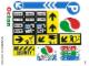 Part No: 4207stk01  Name: Sticker Sheet for Set 4207 - (10010653/6005895)