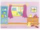 Part No: 4215969  Name: Plastic Backdrop for Set 5940 - Bedroom