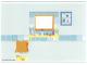 Part No: 4215974  Name: Plastic Backdrop for Set 5940 - Bathroom