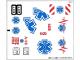 Part No: 4429stk01  Name: Sticker Sheet for Set 4429 - (10581/6005400)