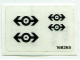 Part No: 4544stk01  Name: Sticker for Set 4544 - (168265)