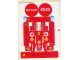 Part No: 4694stk01  Name: Sticker for Set 4694 - Sheet 1, Red Stickers (50462/4233399)