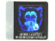 Part No: 4708stk02  Name: Sticker Sheet for Set 4708 - Sheet 2, Dumbledore Hologram (40355/4157071)