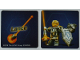 Part No: 5004389cdb06  Name: Paper, Card Insert Nexo Knights Lance
