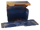 Part No: 5004389cdb09  Name: Paper, Cardboard Backdrop for Set 5004389 with Attached 8 x 16 Blue Plate