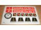 Part No: 590stk01int  Name: Sticker Sheet for Set 590 - International Version - (4659)