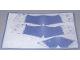 Part No: 59810  Name: Plastic Skin Shark Sheet 1 of 2 for Set 81001-1
