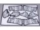 Part No: 59862  Name: Plastic Skin Ink Koi Sheet 2 of 2 for Set 81003-1