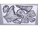 Part No: 59904  Name: Plastic Skin Ink Koi Sheet 1 of 2 for Set 81003-1