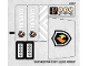 Part No: 60002stk01  Name: Sticker Sheet for Set 60002 - (12687/6020709)