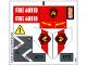 Part No: 60010stk01  Name: Sticker Sheet for Set 60010 - (13567/6030580)
