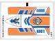 Part No: 60011stk01a  Name: Sticker Sheet for Set 60011 - International Version - (13610/6030889)
