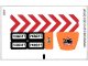 Part No: 60017stk01  Name: Sticker Sheet for Set 60017 - (11846/6018200)