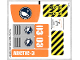Part No: 60035stk01b  Name: Sticker for Set 60035 - North American Version - (17807/6076164)