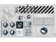Part No: 60036stk01a  Name: Sticker Sheet for Set 60036 - Transparent Background Version - (15111/6045703)